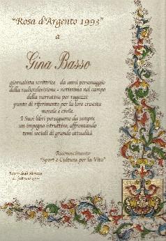 Premio gina basso